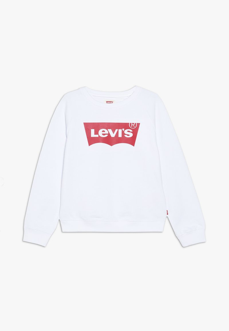 Levi's® - KEY ITEM LOGO CREW - Sweatshirt - red/white