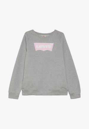 KEY ITEM LOGO CREW - Sweatshirts - grey heather