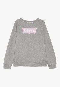 Levi's® - KEY ITEM LOGO CREW - Collegepaita - grey heather - 0