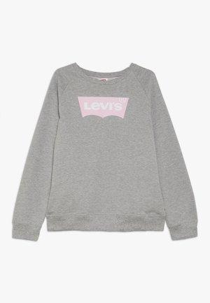 KEY ITEM LOGO CREW - Sweater - grey heather