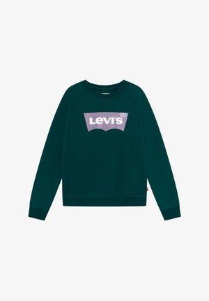KEY ITEM LOGO CREW - Sweatshirt - deep teal