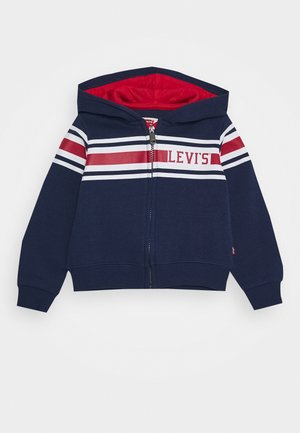 FULL ZIP - Jersey con capucha - medieval blue