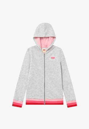 FULL ZIP HIGH RISE HOODIE - Mikina na zip - rose shadow