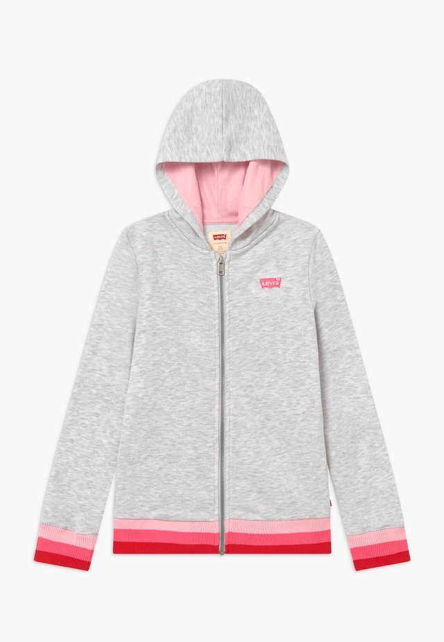FULL ZIP HIGH RISE HOODIE - Sudadera con cremallera - rose shadow