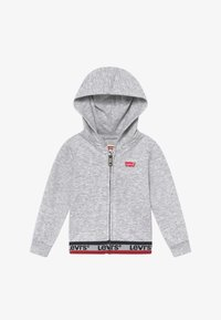 Levi's® - SPORTSWEAR FULL ZIP HOODIE - Hoodie met rits - light gray heather