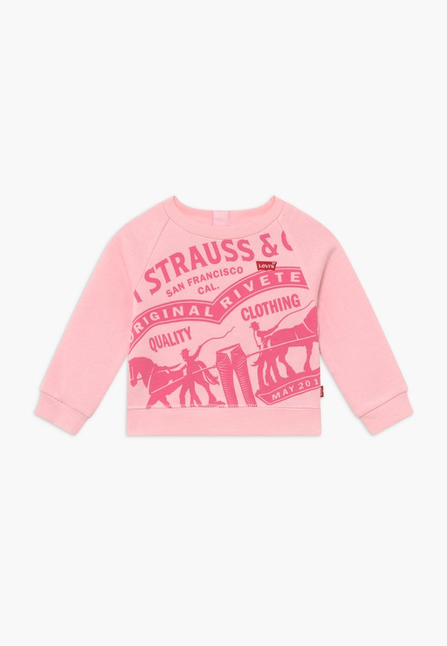 RAGLAN CREWNECK - Sudadera - rose shadow