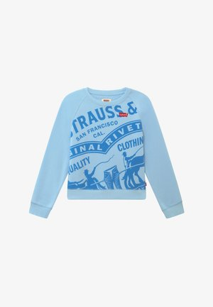 HIGH RISE RAGLAN - Sweatshirt - blue