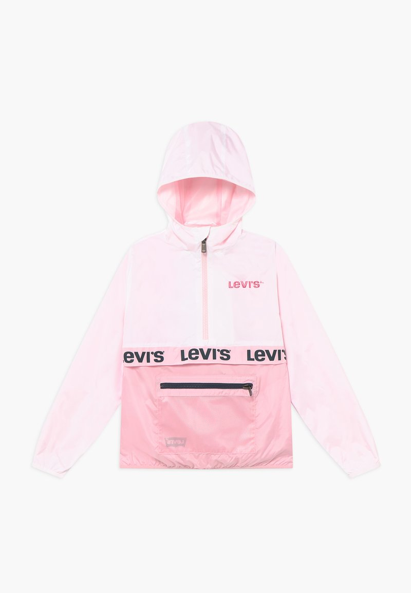 Levi's® - HALF ZIP WINDBREAKER - Jas - white