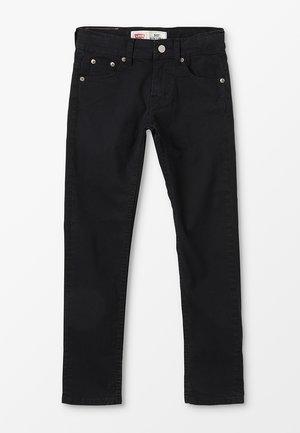 PANT 512 - Slim fit -farkut - black