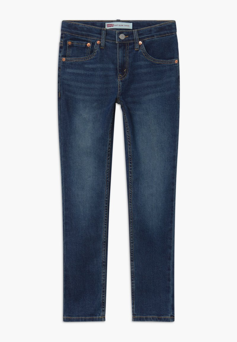 Levi's® - LVB 512 SLIM TAPER JEANS - Slim fit jeans - dark-blue denim