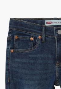 Levi's® - LVB 512 SLIM TAPER JEANS - Slim fit jeans - dark-blue denim - 3
