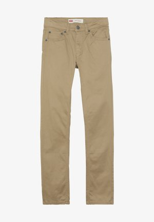 510 SUEDED PANT - Pantaloni - harvest gold