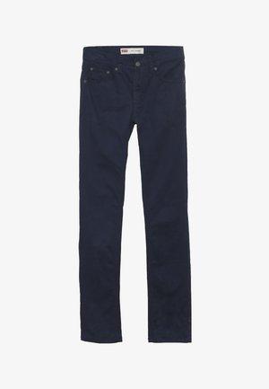 510 SUEDED PANT - Spodnie materiałowe - dress blues