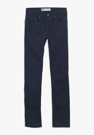 510 SUEDED PANT - Trousers - dress blues