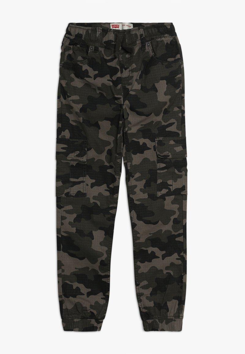 Levi's® - STRETCH RIPSTOP CARGO JOGGER - Pantalon cargo - green camo