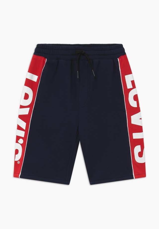 LOGO - Pantalon de survêtement - dark blue