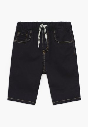 PULL ON SHORT - Denim shorts - dress blues