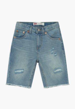 UNBASIC 511 SHORT - Denim shorts - bleached denim