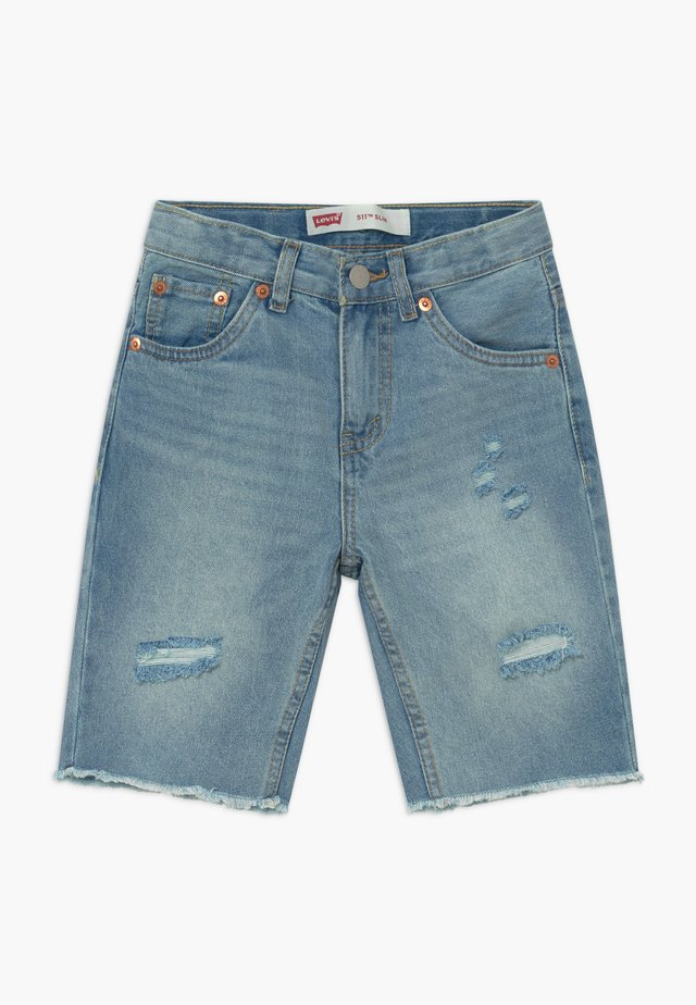 UNBASIC 511 SHORT - Jeansshorts - bleached denim