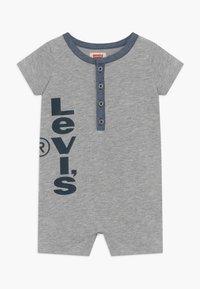 Levi's® - HENLEY ROMPER - Mono - grey heather - 0