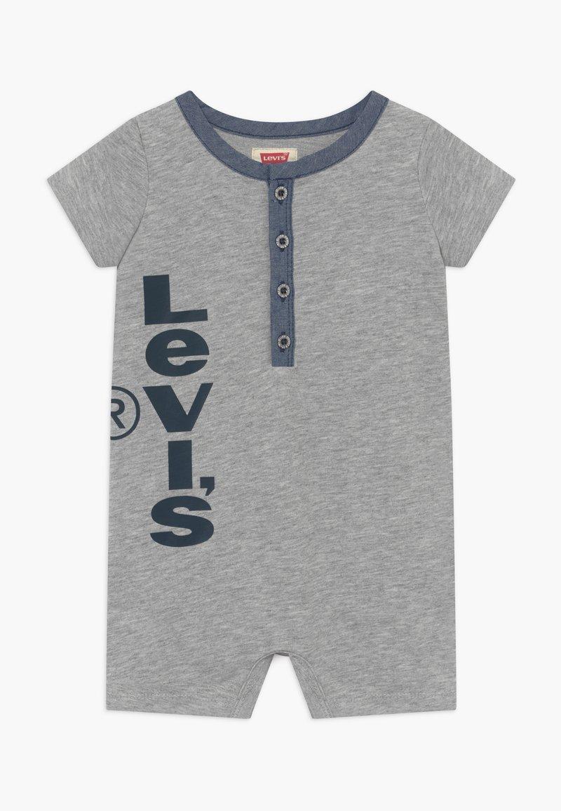 Levi's® - HENLEY ROMPER - Jumpsuit - grey heather