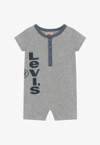 Levi's® - HENLEY ROMPER - Jumpsuit - grey heather