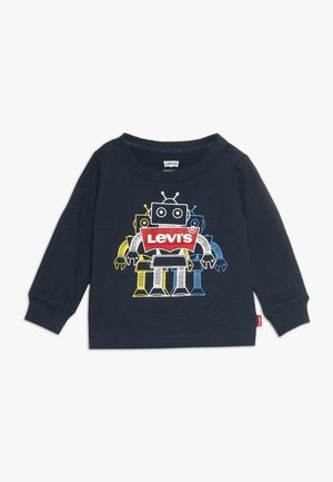 GRAPHIC TEE BABY - Long sleeved top - dress blues