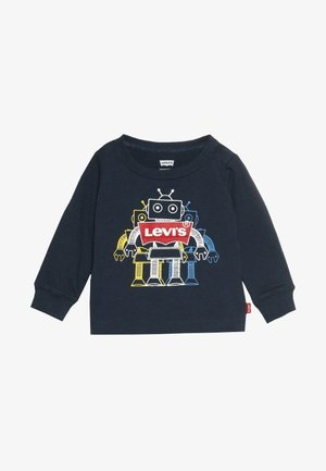GRAPHIC TEE BABY - Topper langermet - dress blues