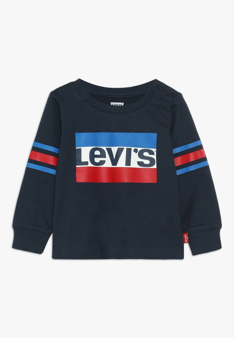 Levi's® - GEOFFREY TEE BABY - Longsleeve - dress blues
