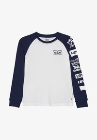 Levi's® - COLOR BLOCKED RAGLAN - Long sleeved top - white - 2