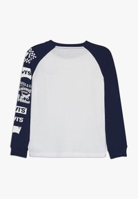 Levi's® - COLOR BLOCKED RAGLAN - Long sleeved top - white - 1