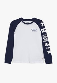 Levi's® - COLOR BLOCKED RAGLAN - Long sleeved top - white - 0