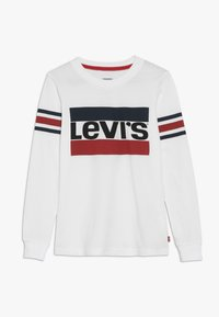 Levi's® - GEOFFREY TEE - Long sleeved top - white - 0