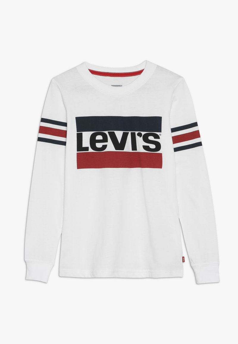Levi's® - GEOFFREY TEE - Long sleeved top - white