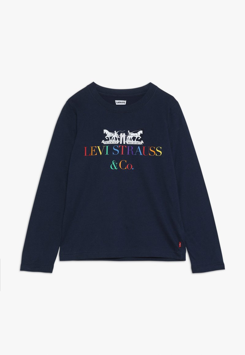 Levi's® - MULTI CORPORATE LOGO - Långärmad tröja - dress blues