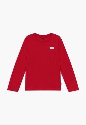 SPINE L-Tab - Långärmad tröja - crimson