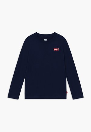 SPINE L-Tab - Langærmede T-shirts - dress blues