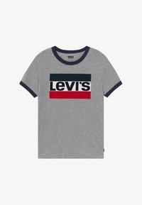 Levi's® - SPORTSWEAR LOGO RINGER - T-shirt print - grey heather - 2