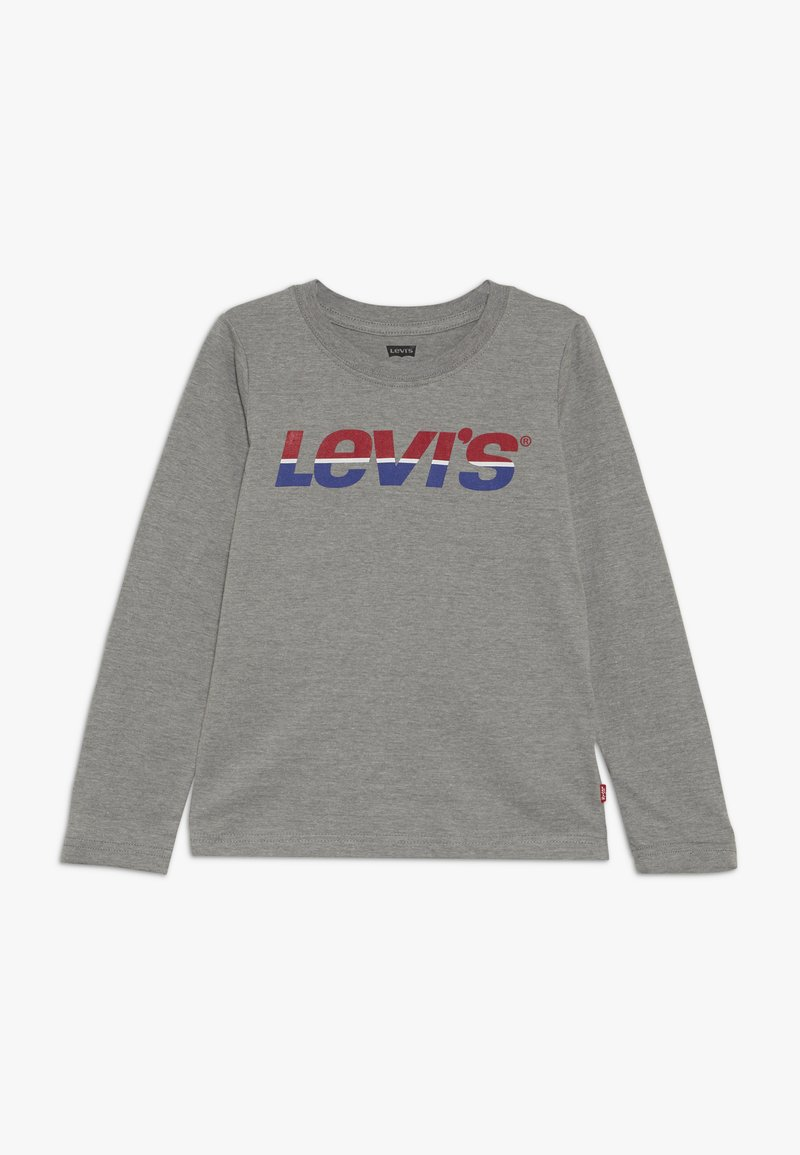 Levi's® - SPLIT TEE - Long sleeved top - grey heather