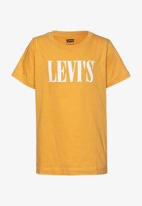 Levi's® - SERIF TEE - Print T-shirt - golden apricot - 0