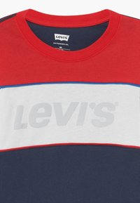 Levi's® - COLOR BLOCK - Long sleeved top - dress blue - 3