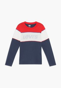 Levi's® - COLOR BLOCK - Topper langermet - dress blue - 0