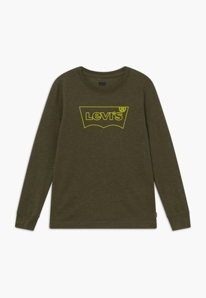 GRAPHIC TEE - T-shirt à manches longues - olive night heather