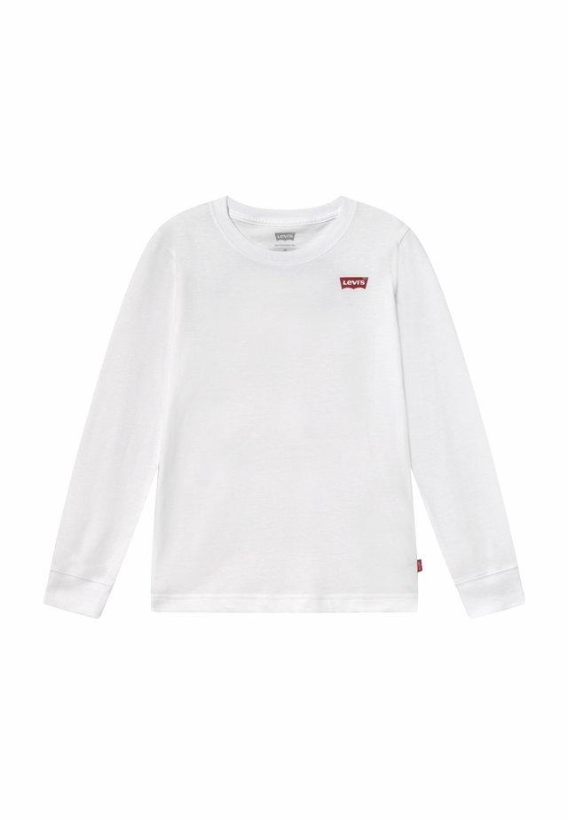 GRAPHIC  - Camiseta de manga larga - white