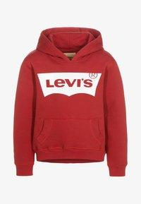 Levi's® - Bluza z kapturem - red - 0