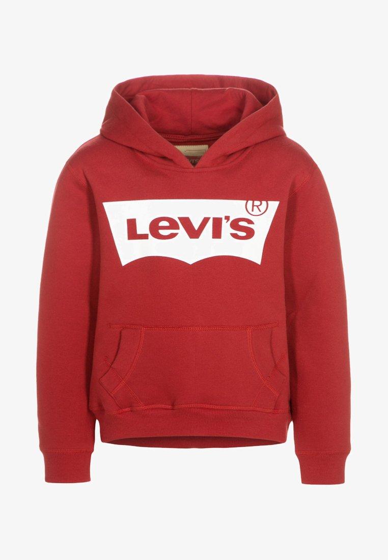 Levi's® - Bluza z kapturem - red