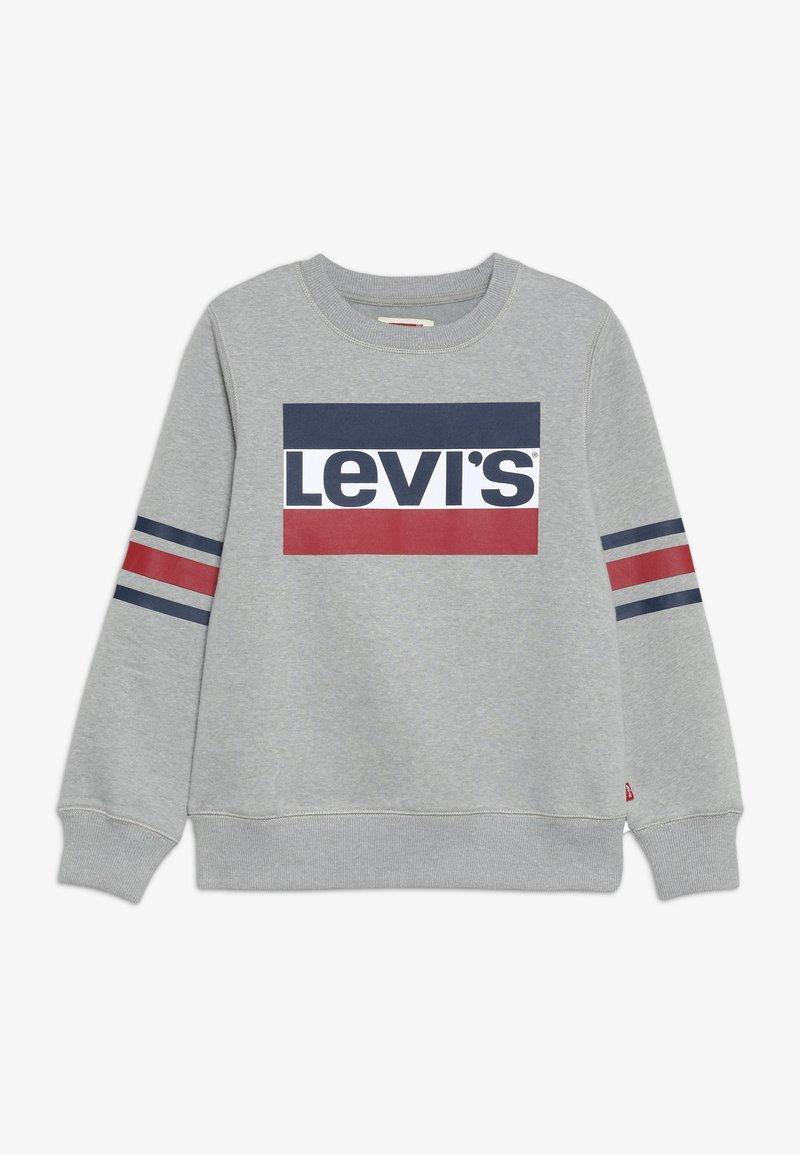 Levi's® - SPORTSWEAR LOGO STRIPED CREW - Sweatshirt - grey heather