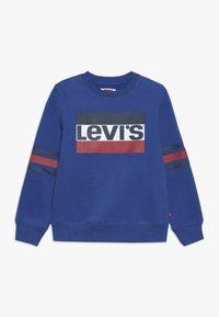 Levi's® - SPORTSWEAR LOGO STRIPED CREW - Sweatshirt - true blue - 0