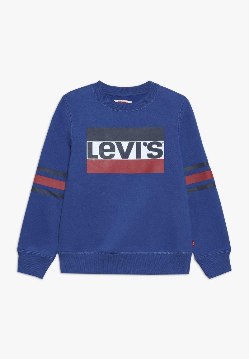 Levi's® - SPORTSWEAR LOGO STRIPED CREW - Sweatshirt - true blue