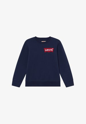 OVERSIZED BATWING CREWNECK - Sweatshirts - dress blues